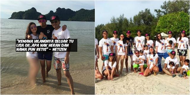 Wow Tak Sangka..Gambar Seksi Melampau Lisa Surihani Bercuti Di Pulau Tersebar