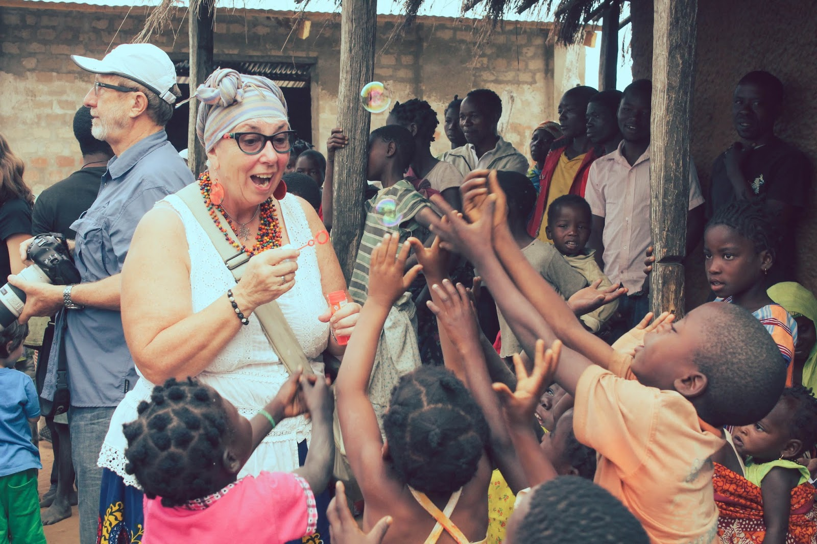 Laura Goes To Africa July 2015