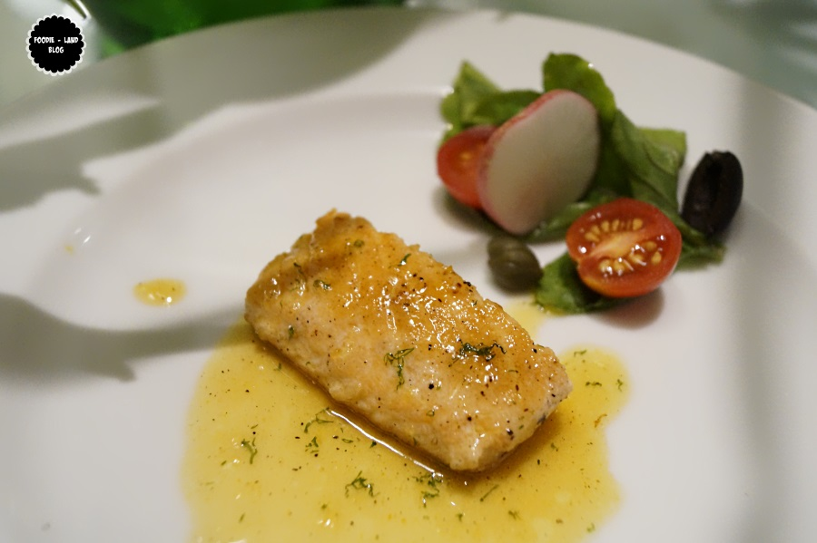 Grilled Salmon@ Glimpses of Italy @ Sphyre | The Gateway Hotel-Residency Road | Bangalore