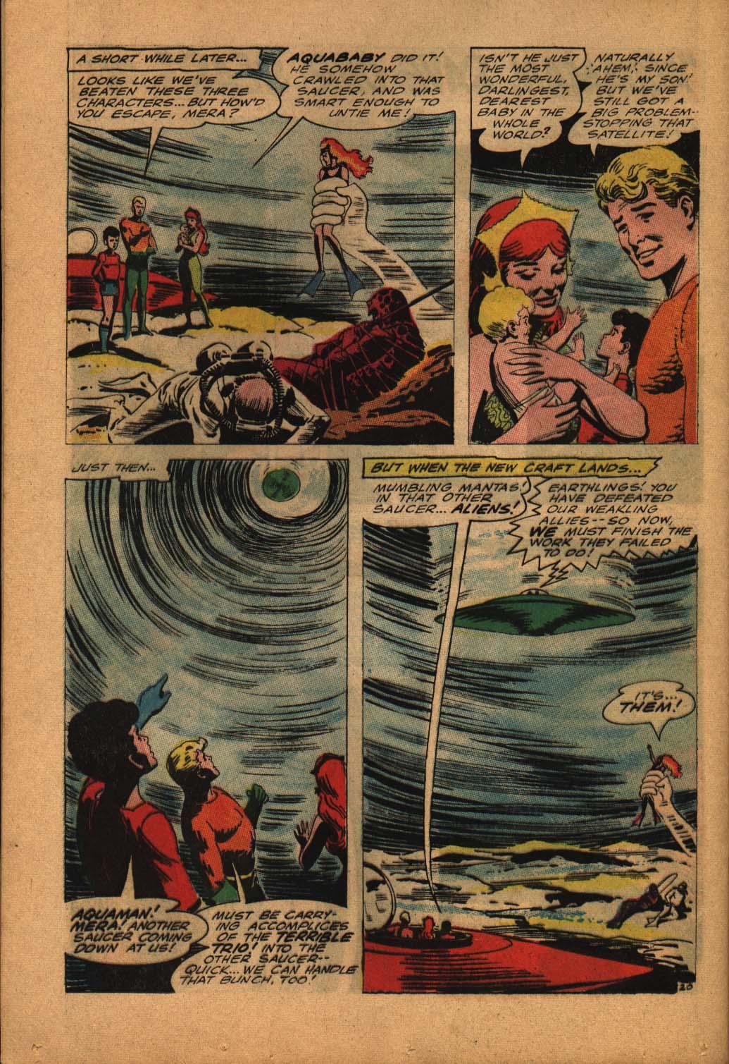 Read online Aquaman (1962) comic -  Issue #24 - 28