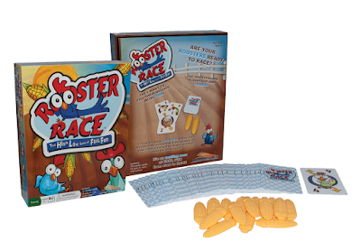 The fun family game Rooster Race