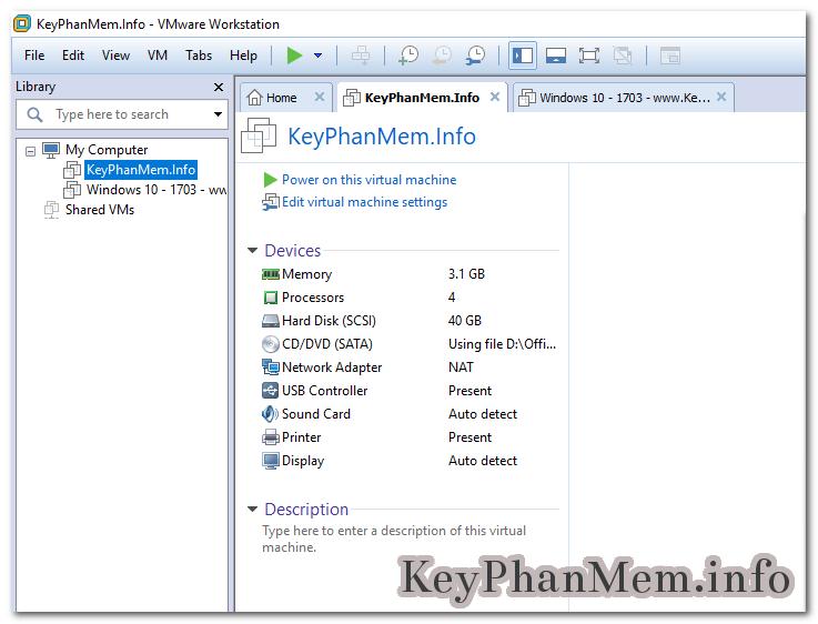 VMware Workstation Pro 14.1.1 Build 7528167 Full Key, Phần mềm tạo máy tính và hệ thống mạng ảo