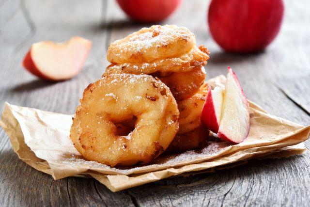 Τηγανητά Μήλα