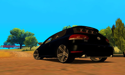 VW Golf GT 2015 Edit para GTA San Andreas , GTA SA, Gta san