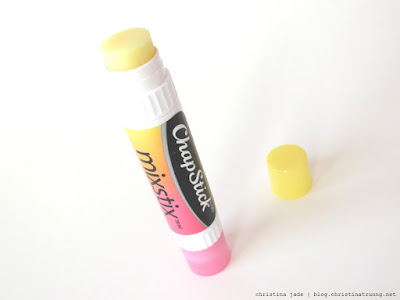 ChapStick MixStix Banana Review