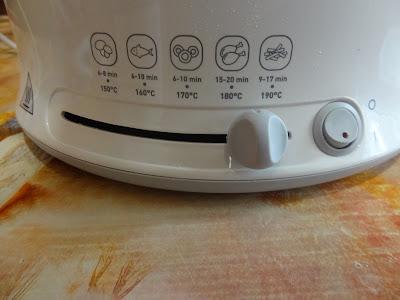 TEFAL Uno M fryer controls