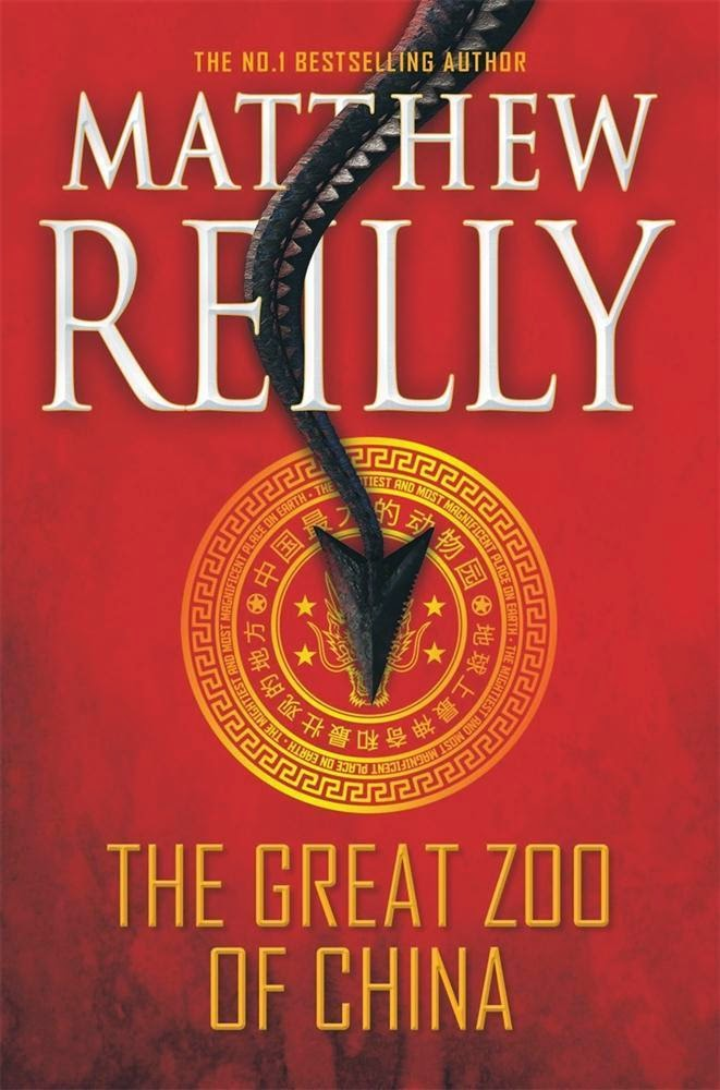 The Great Zoo of China by Matthew Reilly book cover