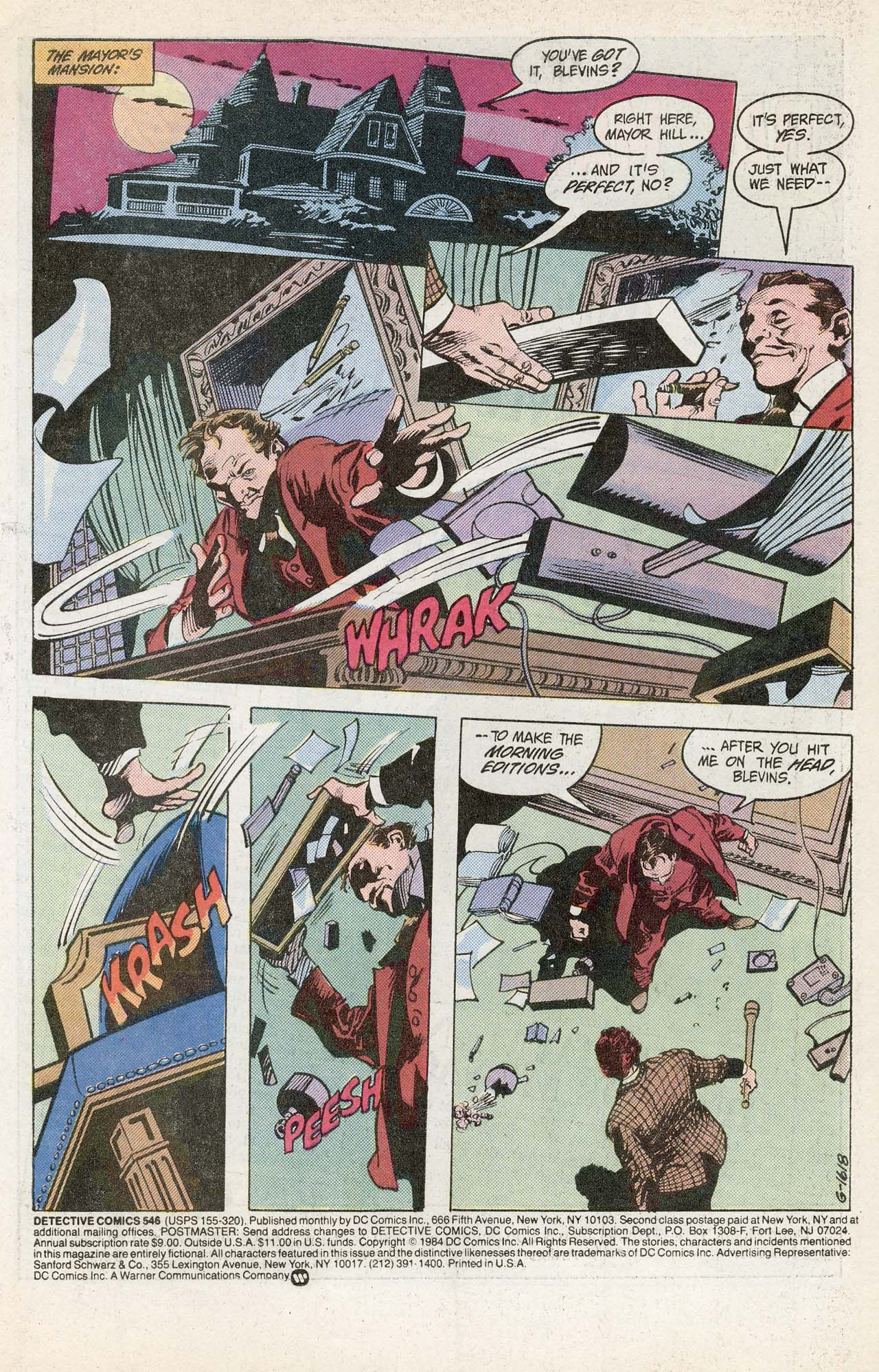 Detective Comics (1937) 546 Page 2