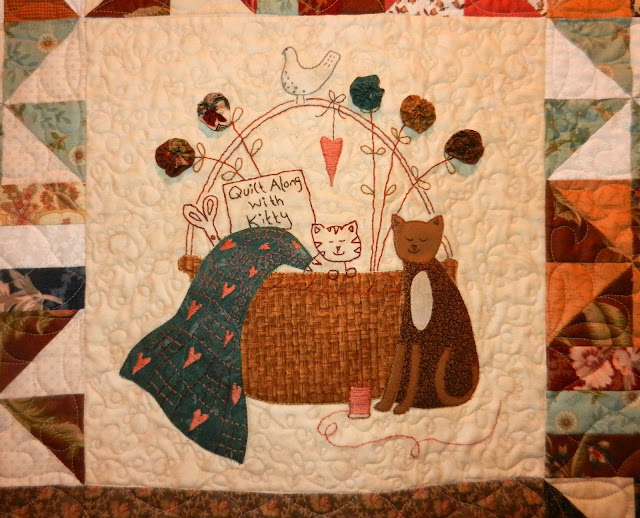 Cat Patches Blogger S Quilt Festival A Kitten S Tale