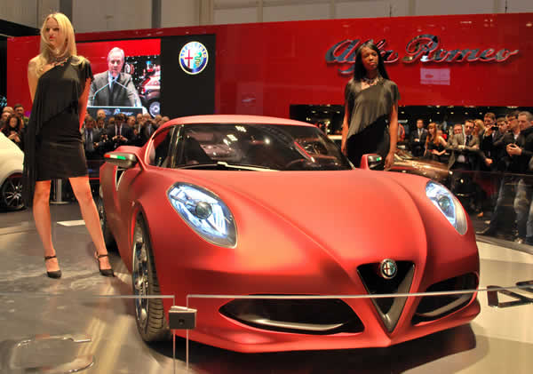 New Cars Models Alfa Romeo 4c Concept From Geneva