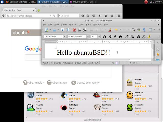 Ubuntu BSD