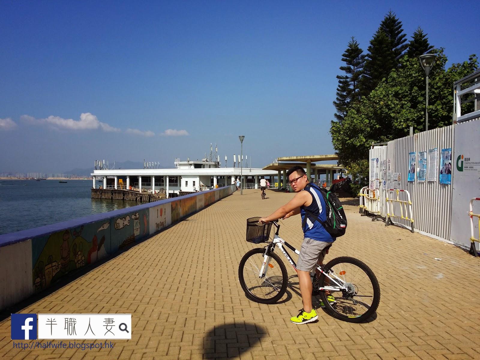 半職人妻: Let's go cycling ~ ! 秋日單車遊東涌欣澳線