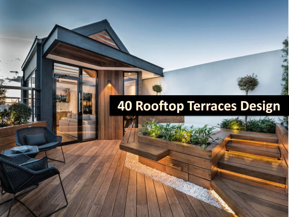 40 Small Rooftop Terrace Ideas - Bahay OFW