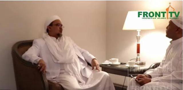 Tegang dengan Yusril, Habib Rizieq Bakal Pecat Anggota FPI Jika Tak Mundur dari PBB