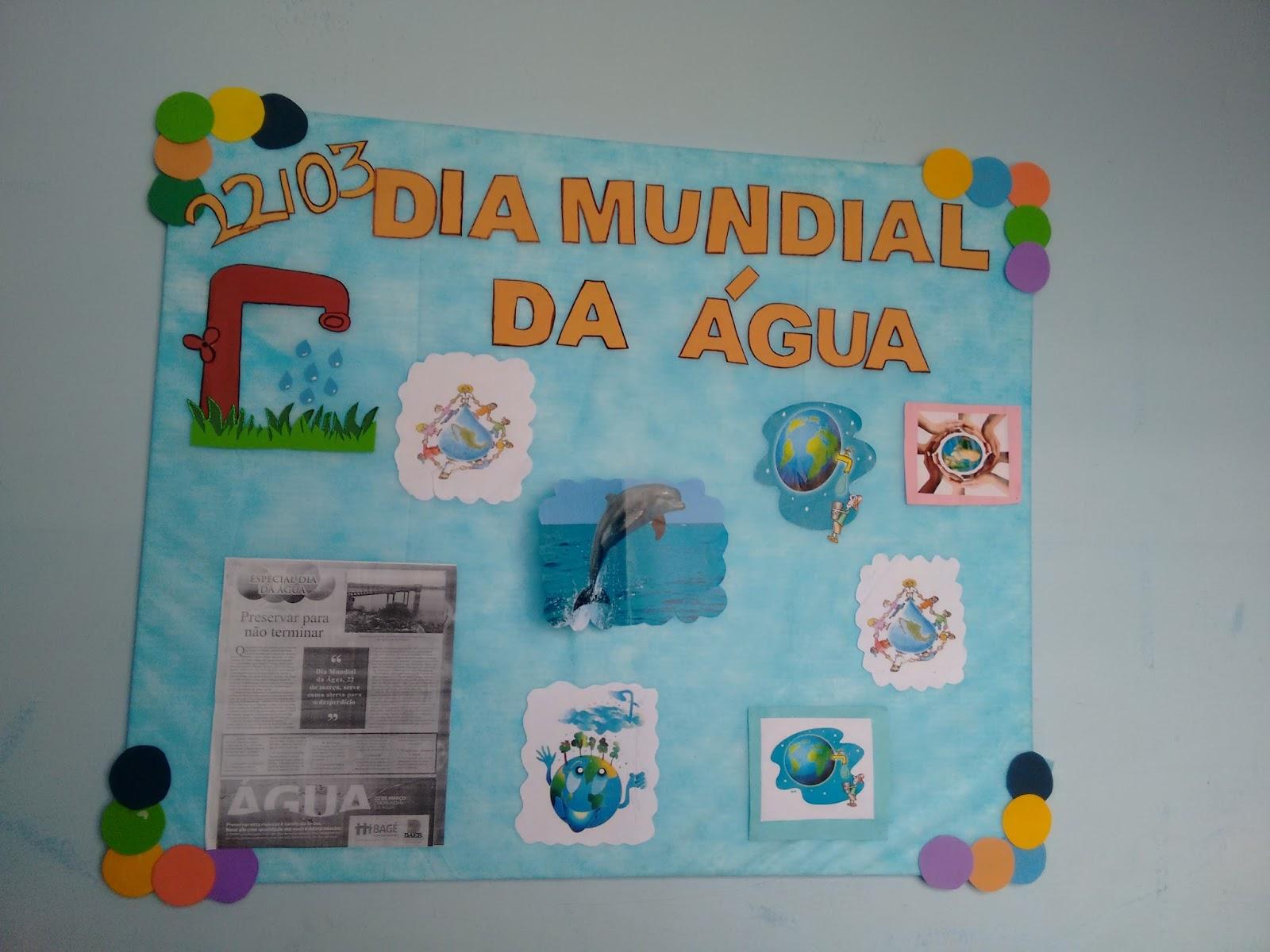 40 Ideias De Mural Para Dia Mundial Da água Só Escola