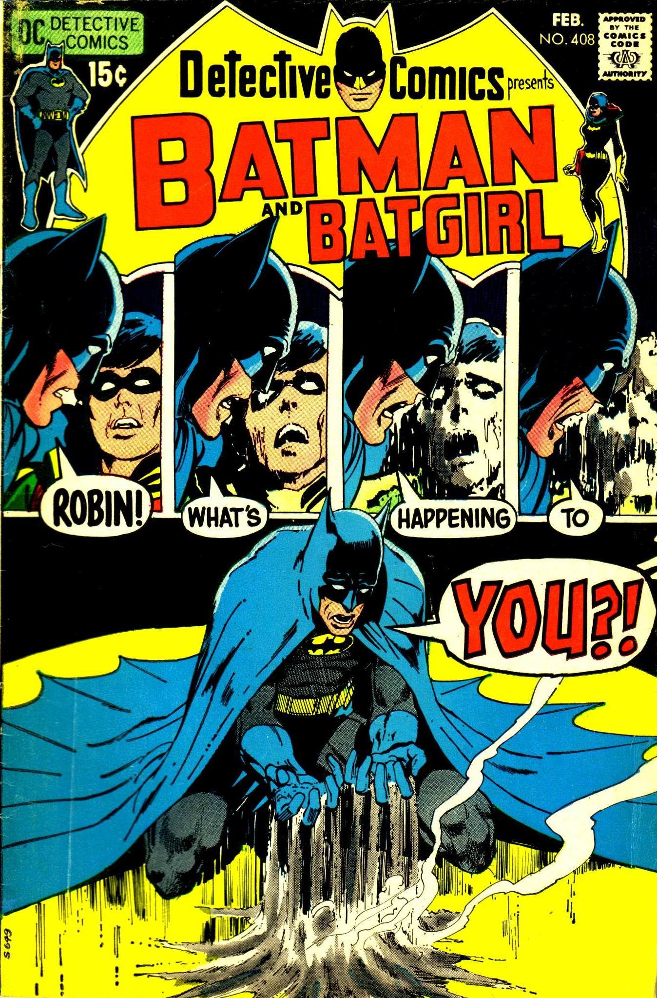 Detective Comics (1937) 408 Page 1