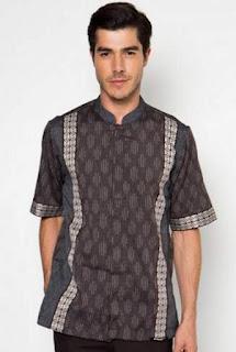 Model baju batik muslim terbaru untuk pria modern