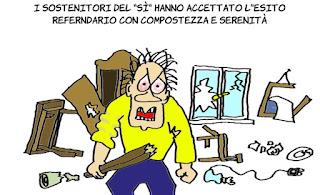 noquorum, quorum, social, referendum, trivelle, vignetta, satira