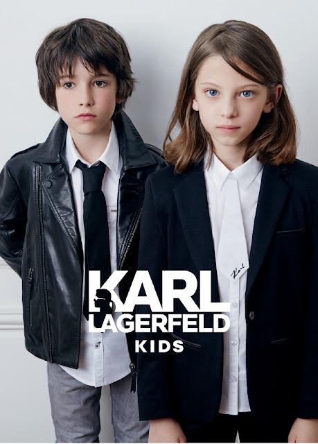 karl lagerfeld niños