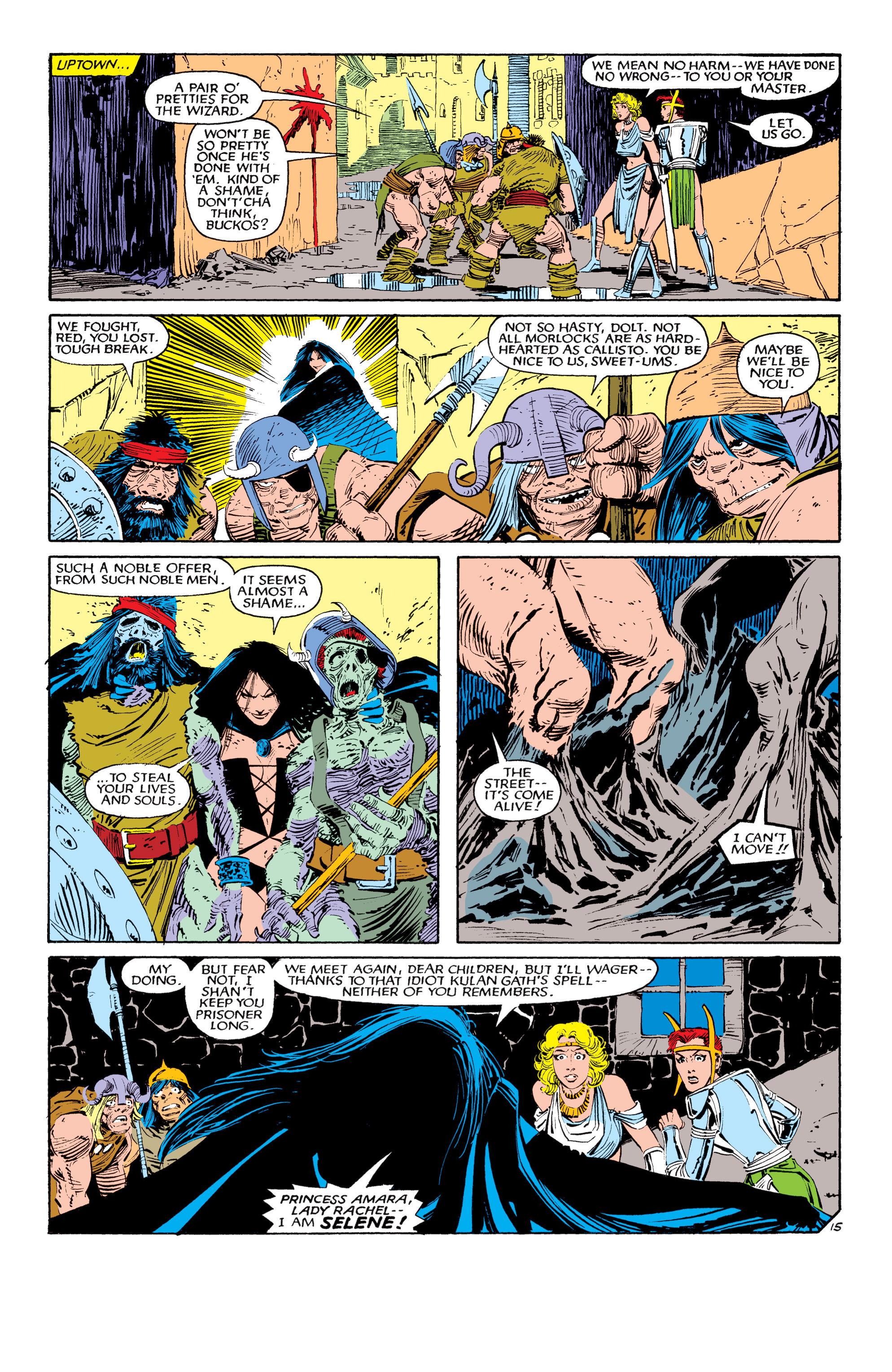 Read online Uncanny X-Men (1963) comic -  Issue #190 - 15