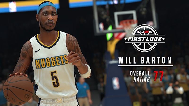 2k18 Will Barton