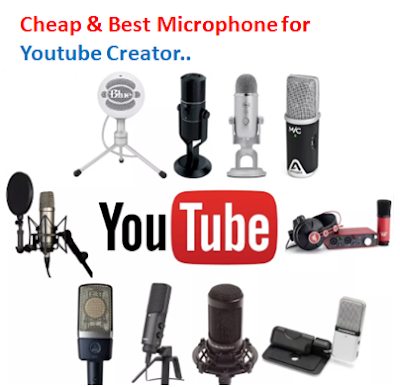 cheap-best microphone for youtube creator