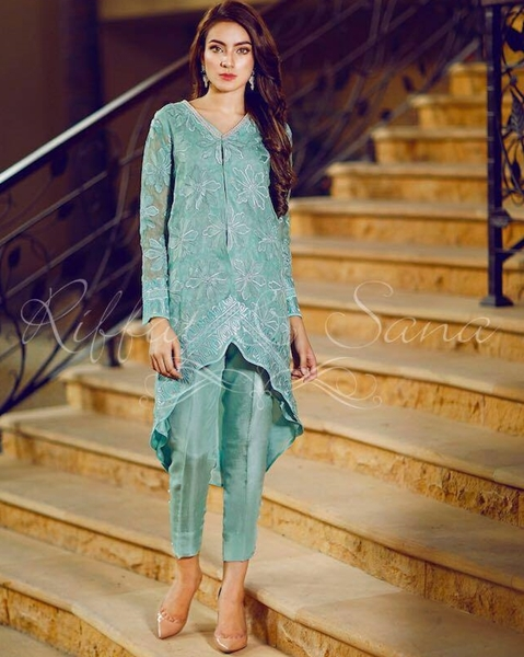 Party Dresses New Collection 2017 By Sana Salman