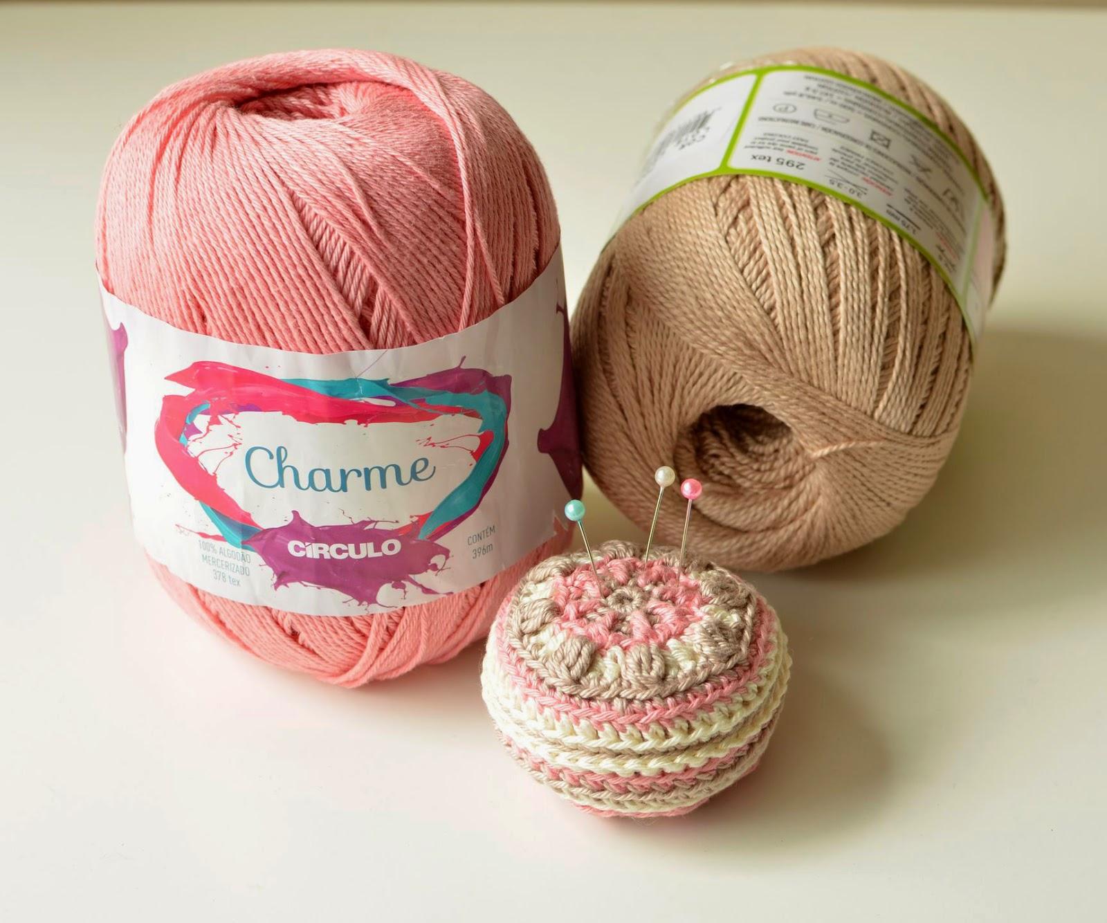 Macaron Pin Cushion Free Pattern Lillabjrns Crochet World