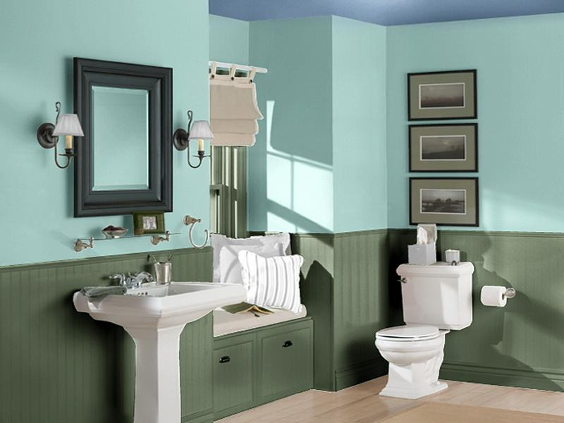 ideas for bathroom colors bold bathroom paint ideas for small bathroom yonehome 18790