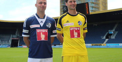 a685713ab FC Luzern 13-14 (2013-14) Home Kit Released
