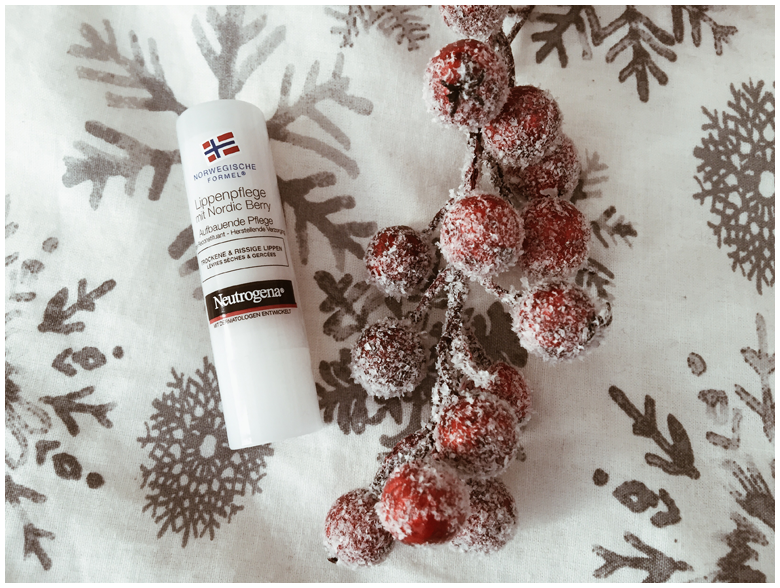 winter skin with neutrogena norwegian formula, lip moisturizer, winterhaut mit neutrogena norwegische formel, lippenpflege mit nordic berry, review