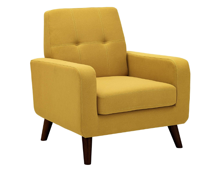 Dazone Latest Upholstered Accent Chair Comfy Armchair