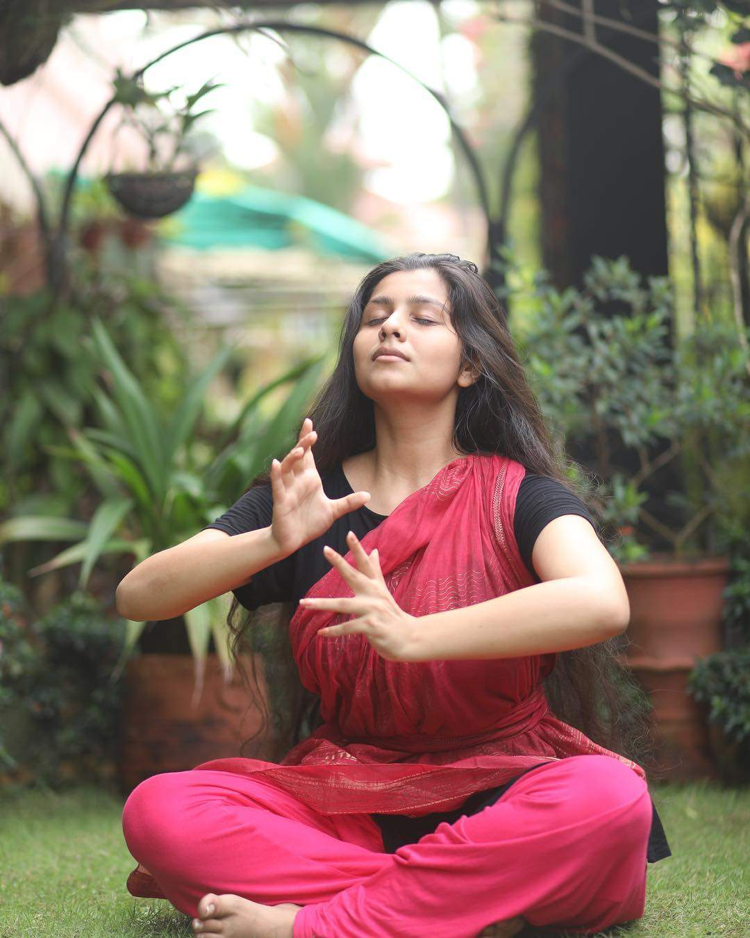 Hot Malayalam Skuespillerinde Niranjana Anoop HD Billeder-4353