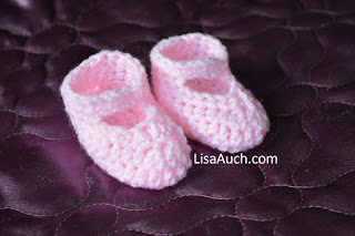 FREE Crochet Pattern for Easy Baby Crochet Newborn Shoes ...