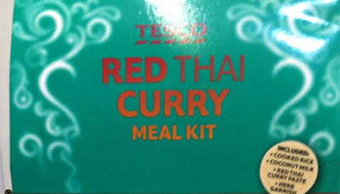Zestaw czerwone Curry, Tesco
