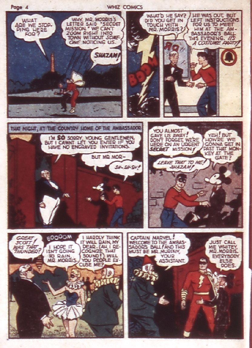 WHIZ Comics issue 23 - Page 6