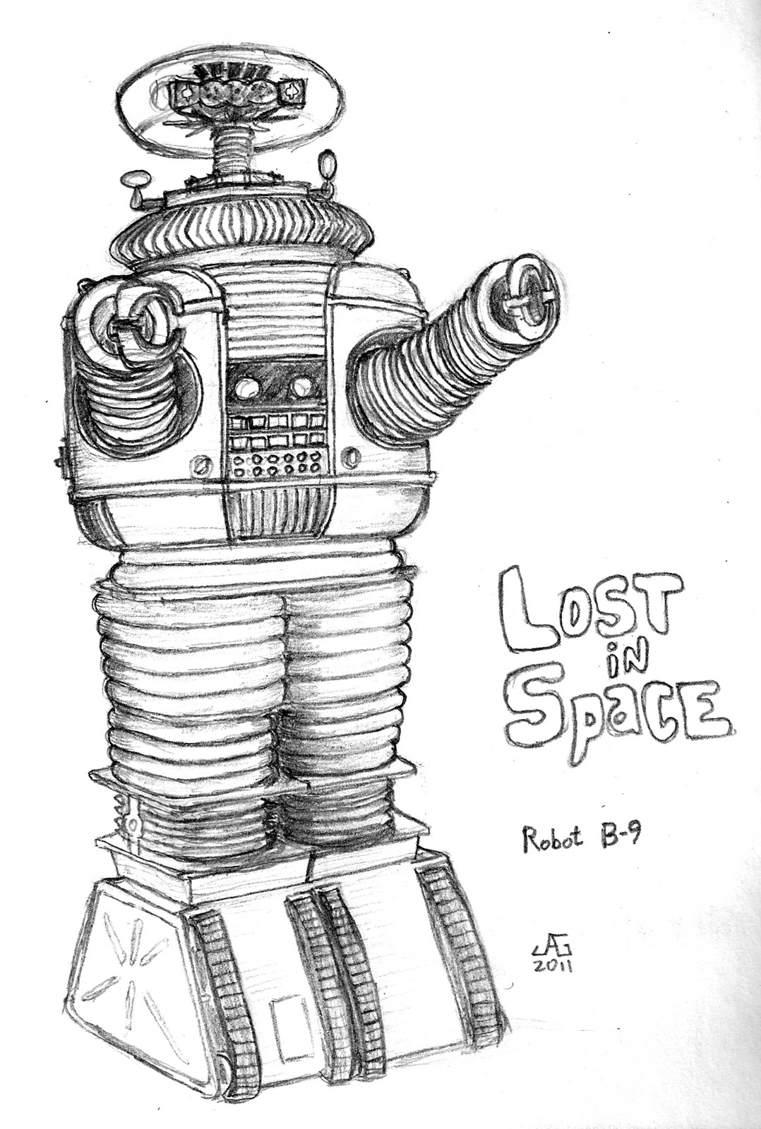 The Impulsive Sketch Journal Lost In Space
