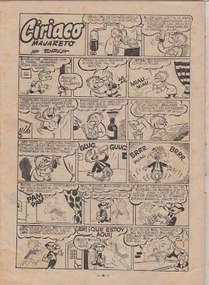 Ciriaco Majareto, Trampolin nº 57, 1953