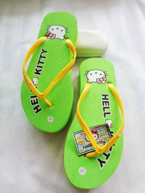 Sandal HK Tebal Tinggi OTG