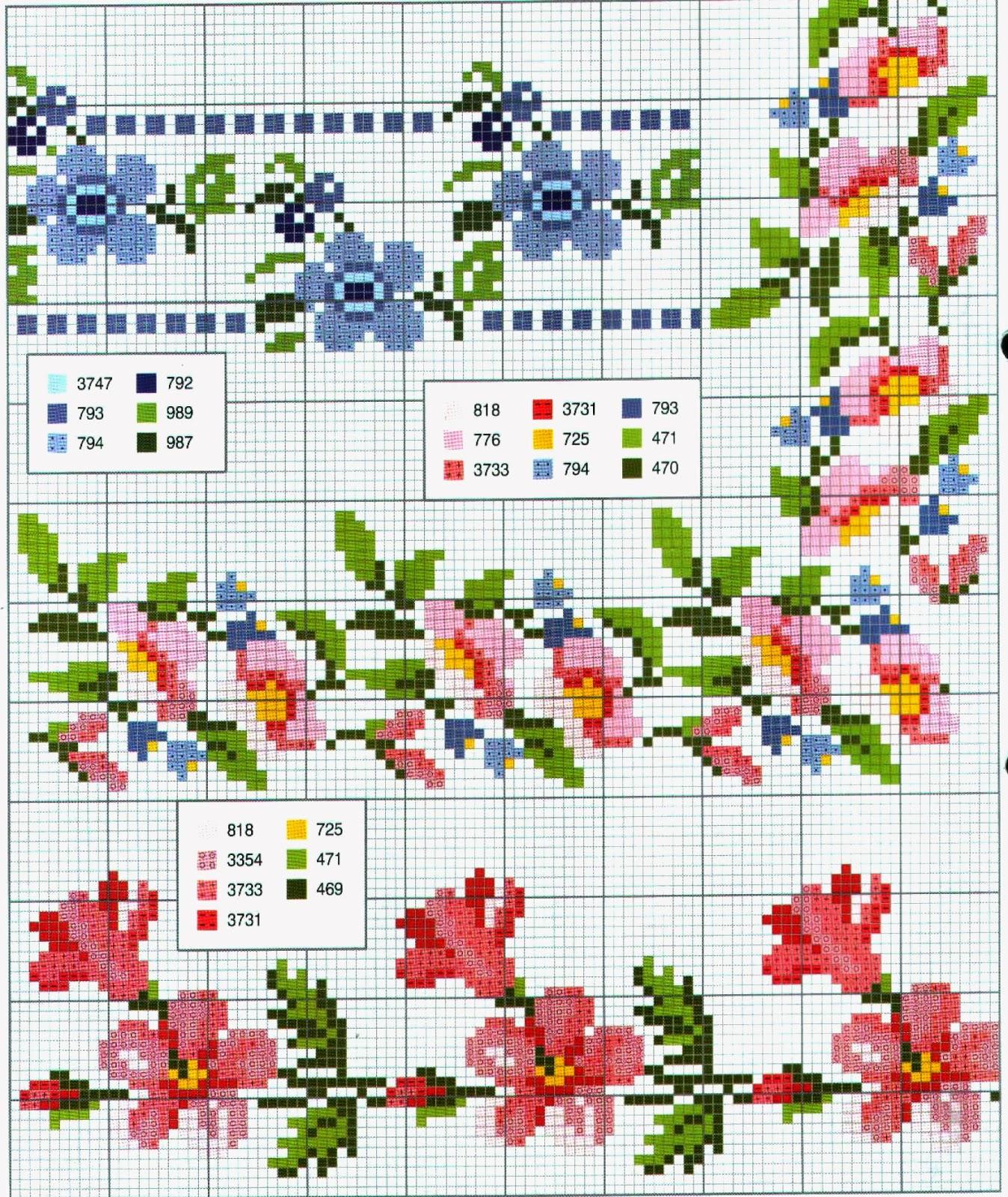 Ricami e schemi a punto croce gratuiti schemi a punto for Farfalle a punto croce gratis