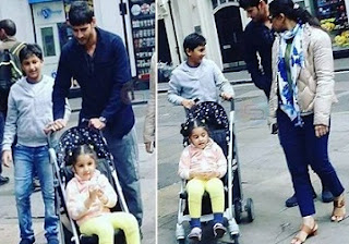 Mahesh Babu Enjoys Family Trip At London Photos