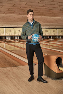Luke Farley is the face of Mr Porter x Prada Capsule Collection