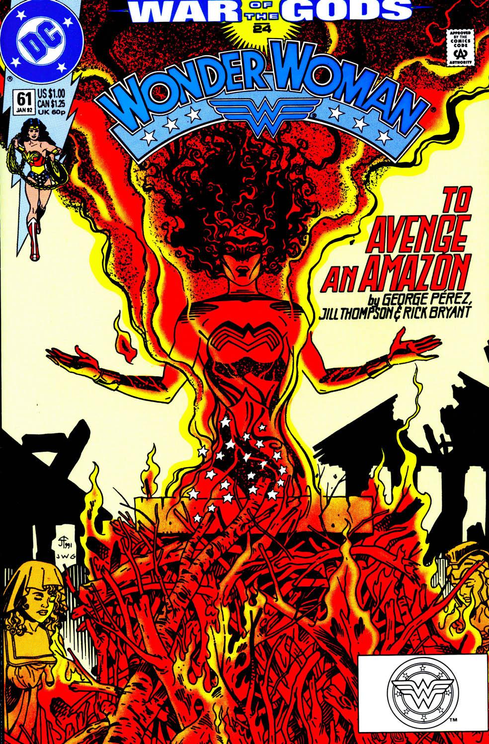 Read online Wonder Woman (1987) comic -  Issue #61 - 2