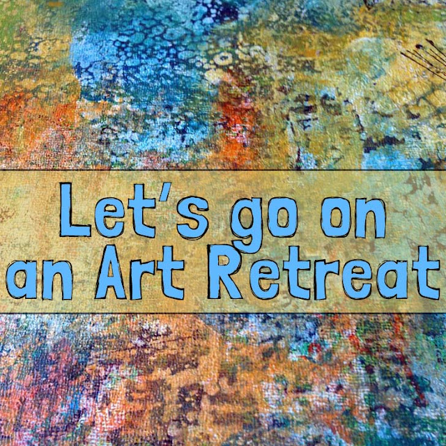 mixed media art class with seth apter http://schulmanart.blogspot.com/2015/06/lets-go-on-art-retreat.html