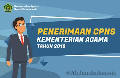 Seleksi CPNS Kementerian Agama Tahun 2018