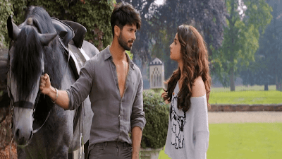 First Look Shahid Kapoor And Alia Bhatt In Shaandar Movie