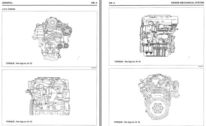 Diesel D4EA hyundai