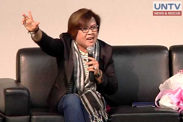 De Lima Encourages Women To Stand Up For Their Rights And Condemn Sexist Remarks! Read More!