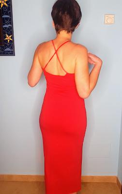 vestido lefties rojo