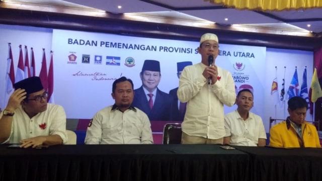 BPD Sumut Sebut Lembaga Survei yang Menangkan Jokowi Abal-abal